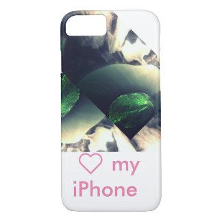 Coque iPhone 7 collection verte de rosée