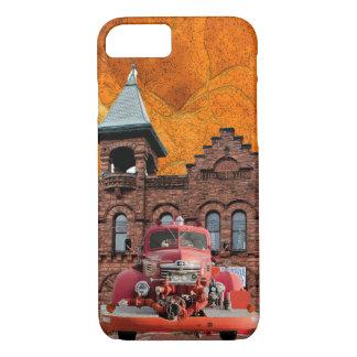 Coque iPhone 7 Conception de camion de pompiers de