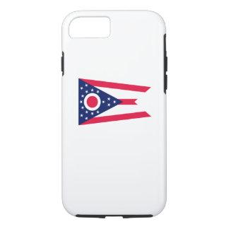 Coque iPhone 7 Conception de drapeau d'état de l'Ohio