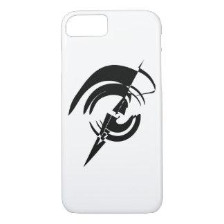 Coque iPhone 7 Conception de vecteur de logo de cercle d'art de