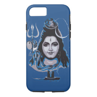 Coque iPhone 7 Conception dure de cas d'un dieu de shiva d'iphone