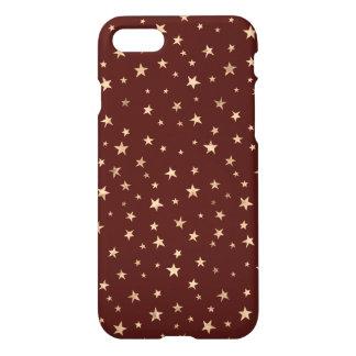 Coque iPhone 7 Conception mignonne d'étoiles de scintillement