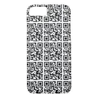 Coque iPhone 7 Conservation fraîche d'animal de code de QR