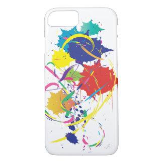 Coque iPhone 7 Cool abstrait d'art numérique de vecteur de