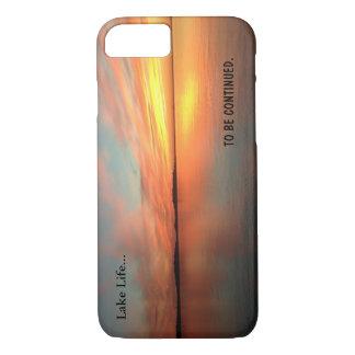 Coque iPhone 7 Coucher du soleil pittoresque d'image de la vie de