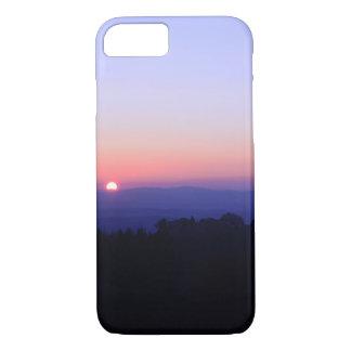 Coque iPhone 7 Coucher du soleil toscan