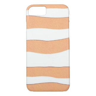 Coque iPhone 7 couverture d'iphone avec des rayures de tigre