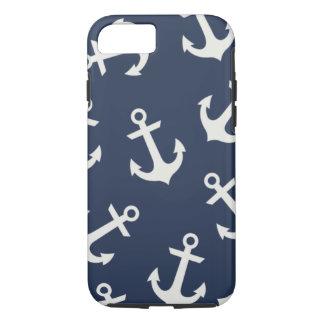 Coque iPhone 7 Couverture nautique de très bon goût de cas de