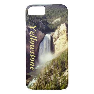 Coque iPhone 7 Couverture w/text de l'iPhone 7 de Yellowstone,