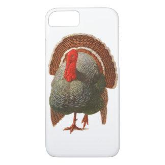Coque iPhone 7 Cru heureux Turquie de jour de la Turquie