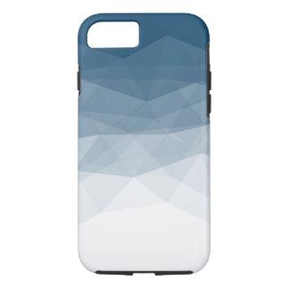 Coque iPhone 7 Dessus bleu de vecteurs