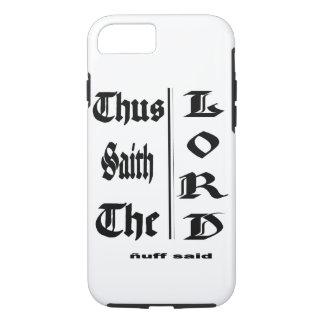 Coque iPhone 7 Dieu a le dernier mot
