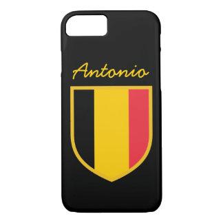 Coque iPhone 7 Drapeau de la Belgique