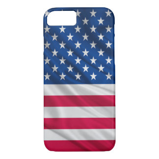 Coque iPhone 7 drapeau Etats-Unis de l'iphone 7 de couverture