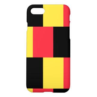 Coque iPhone 7 Drapeau national de la Belgique