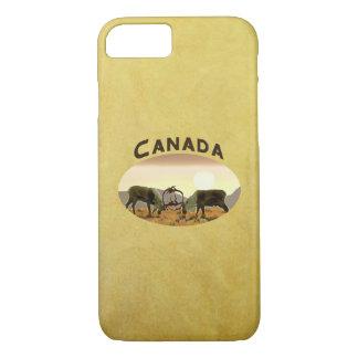 Coque iPhone 7 Duel de caribou - Canada