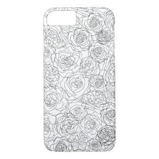 Coque iPhone 7 D'une manière attirante floral