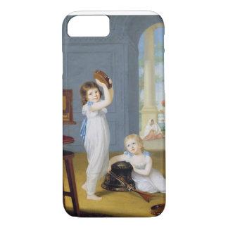 Coque iPhone 7 Emily et maçon de George, c.1794-95 (huile sur la