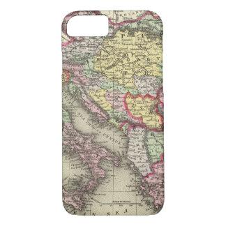 Coque iPhone 7 Empire autrichien, Italie, Turquie en Europe,