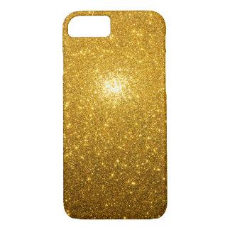 Coque iPhone 7 Étincelles d'or