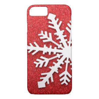 Coque iPhone 7 Étincelles rouges de Noël