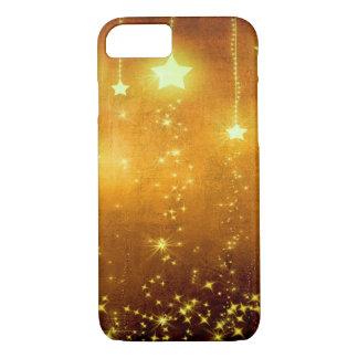 Coque iPhone 7 Étoiles d'or