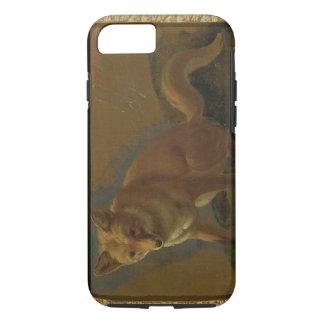 Coque iPhone 7 Étude d'un Fox (huile sur le panneau)