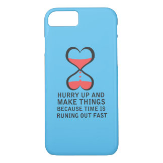 Coque iPhone 7 Faites les choses - couverture de motivation