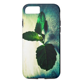 Coque iPhone 7 Feuille d'hiver