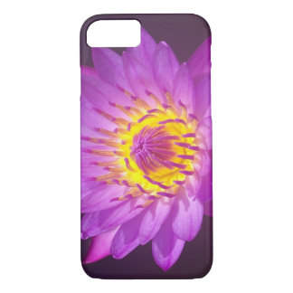 Coque iPhone 7 Fleur de Lotus pourpre