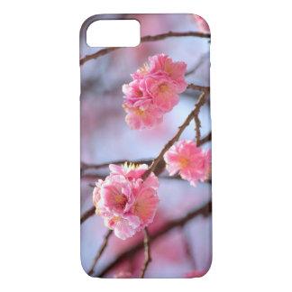 Coque iPhone 7 Fleurs de cerisier roses