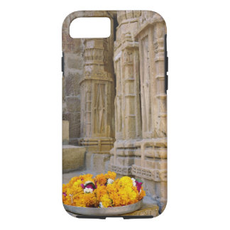 Coque iPhone 7 Fleurs et colonnes, fort de Jaisalmer, Jaisalmer,