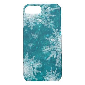 Coque iPhone 7 Flocons de neige