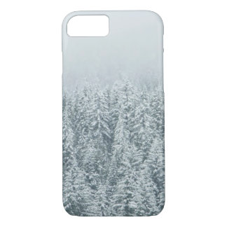 Coque iPhone 7 Forêt d'hiver