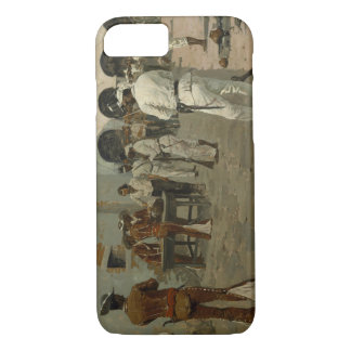 Coque iPhone 7 Frederic Remington - l'expédition de Mier