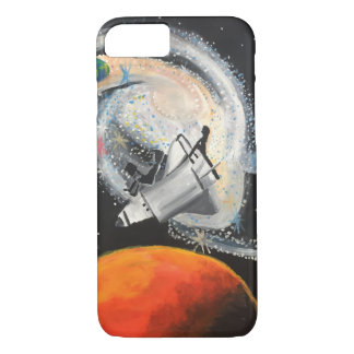 Coque iPhone 7 Galaxie