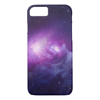 Coque iPhone 7 Galaxie pourpre