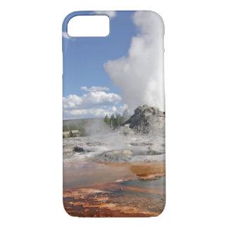 COQUE iPhone 7 GEYSER DE CHÂTEAU DE YELLOWSTONE