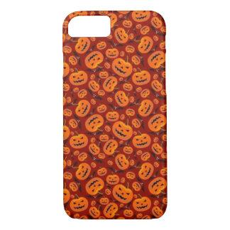 Coque iPhone 7 Halloween rouge