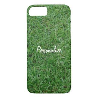 Coque iPhone 7 Herbe verte d'été, yard, photo de la pelouse 099