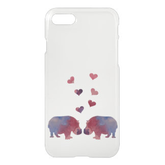 Coque iPhone 7 Hippopotames