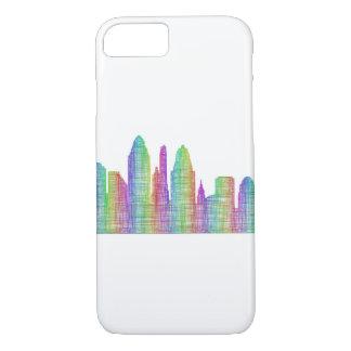 Coque iPhone 7 Horizon de ville de Cincinnati