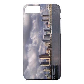 Coque iPhone 7 Horizon et tempête de San Diego la Californie