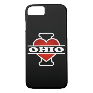 Coque iPhone 7 I coeur Ohio