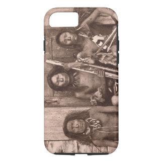 Coque iPhone 7 Indiens de Spokane, 1861 (photo de b/w)