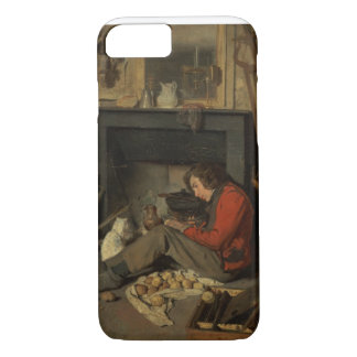 Coque iPhone 7 Intérieur d'un studio, 1845 (huile sur la toile)