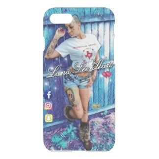 Coque iPhone 7 iPHONE 7 et CAS 7 PLUS (BARRIÈRE BLEUE) de CERF de