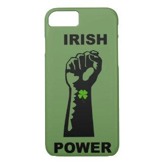 Coque iPhone 7 iPhone irlandais de puissance 7/8 cas