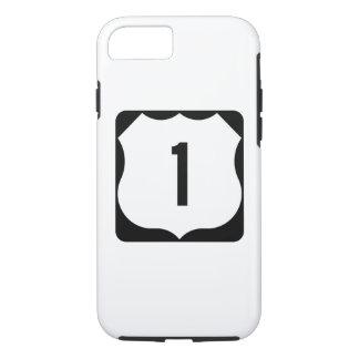 Coque iPhone 7 Itinéraire 1, xxxx, Etats-Unis d'état