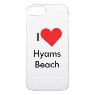 Coque iPhone 7 J'aime la plage de Hyams